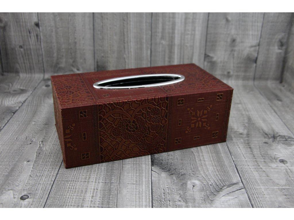 Krabice na kapesníky-afrika