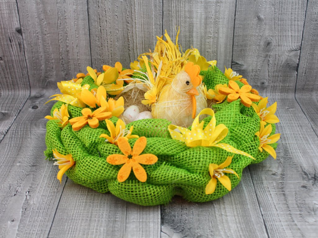 Hnízdo zelené