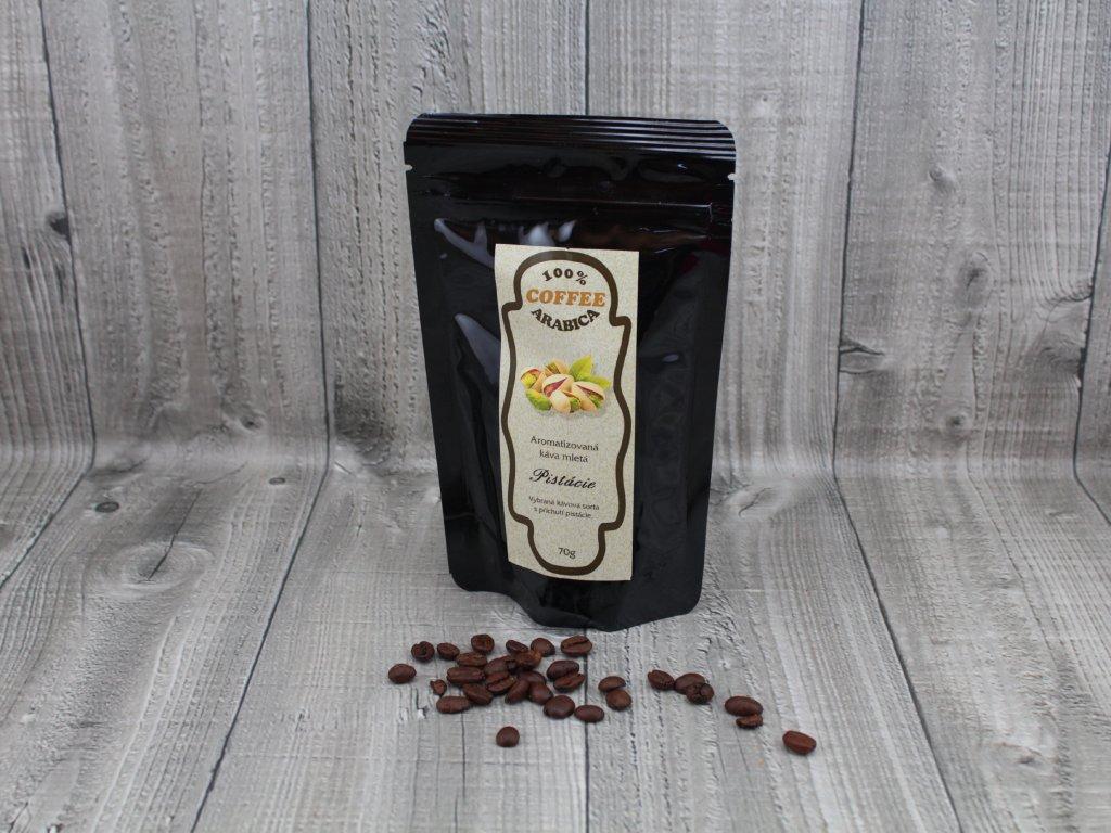 Káva pistácie 70g