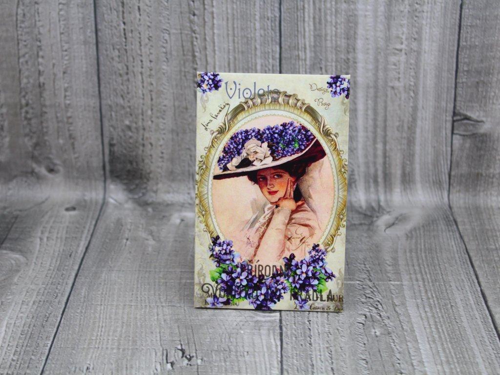 Vonítko-violet
