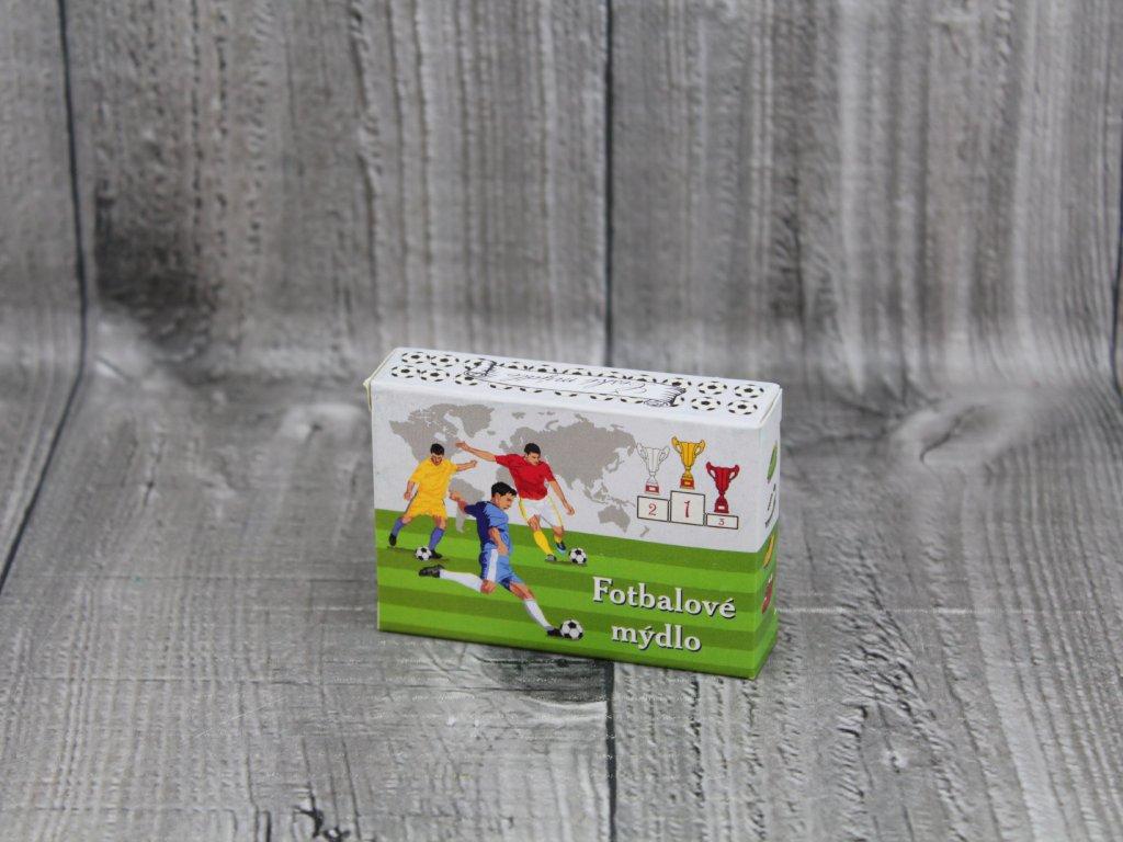 Mýdlo přírodní 40g fotbalové