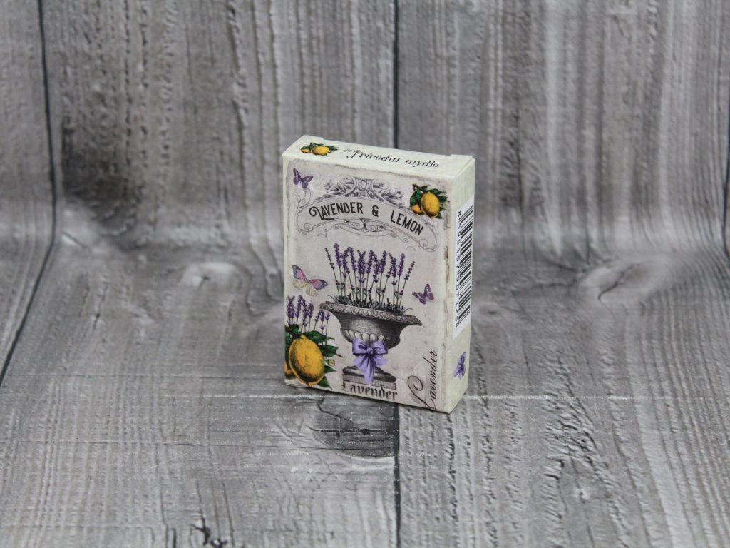 Mýdlo přírodní 40g levandule, lemon