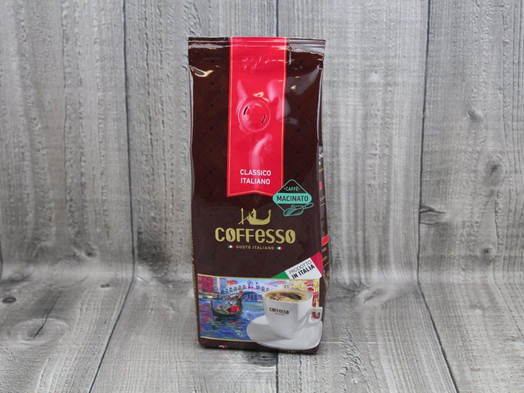 Italská káva-medio
