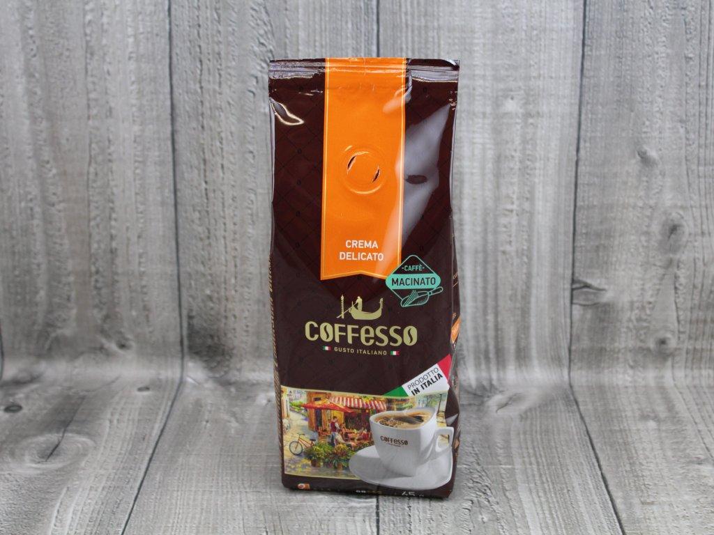 Italská káva-delikato