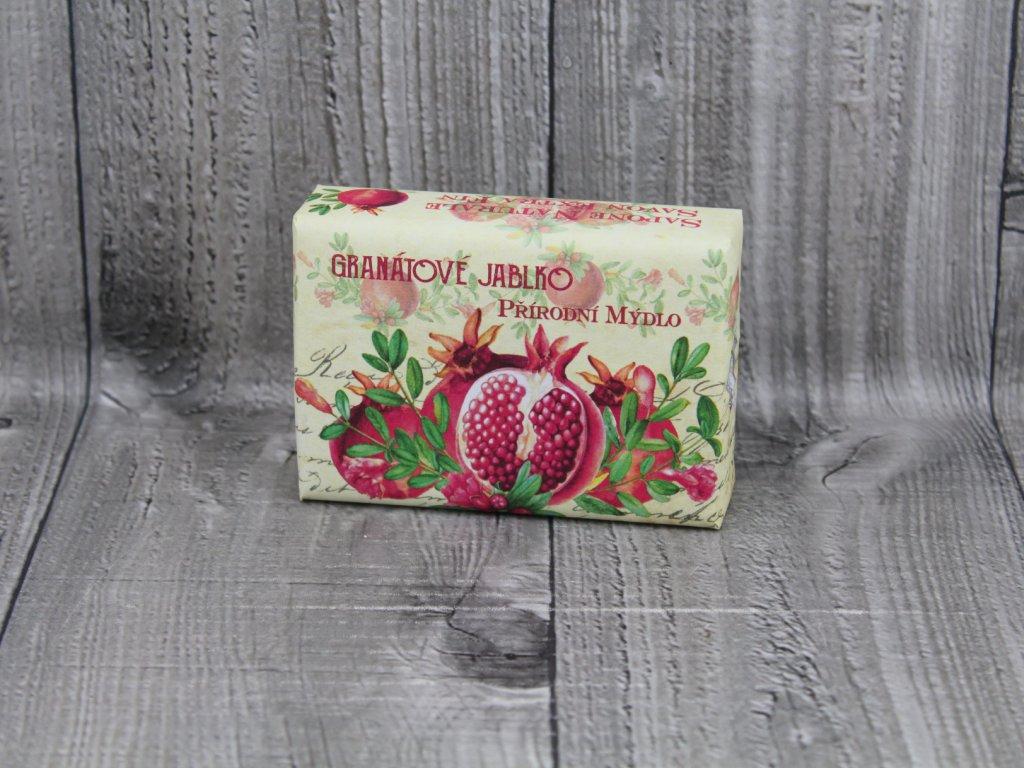 Mýdlo přírodní 200g-granátové jablko
