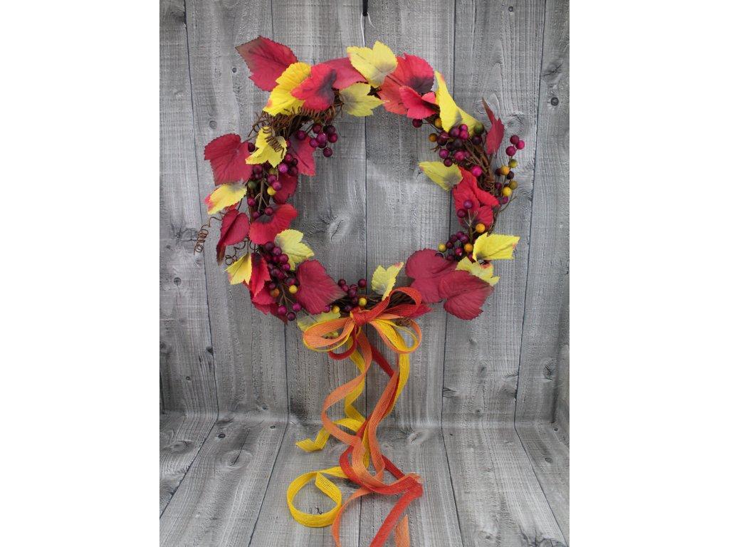 Věnec réva-umělé plody