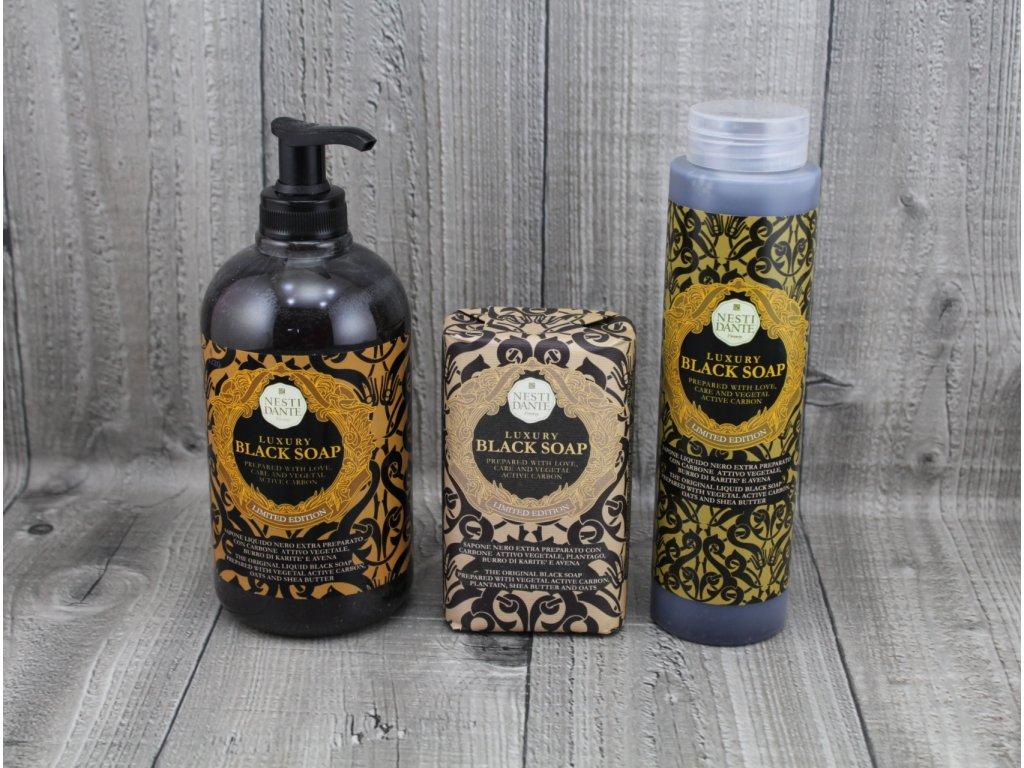Mýdlo LUXURY BLACK NESTI DANTE