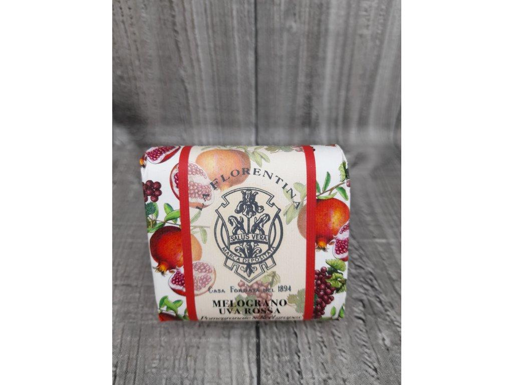 Mýdlo 106g granátové jablko,červené hrozno