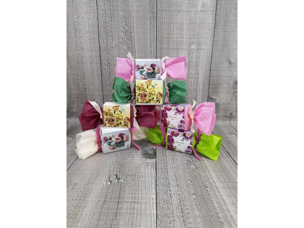 Mýdla mini květy