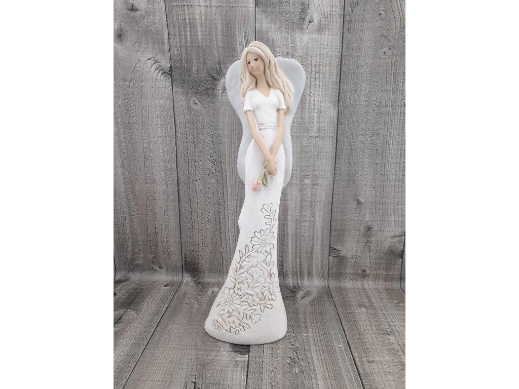 Anděl s kytičkou