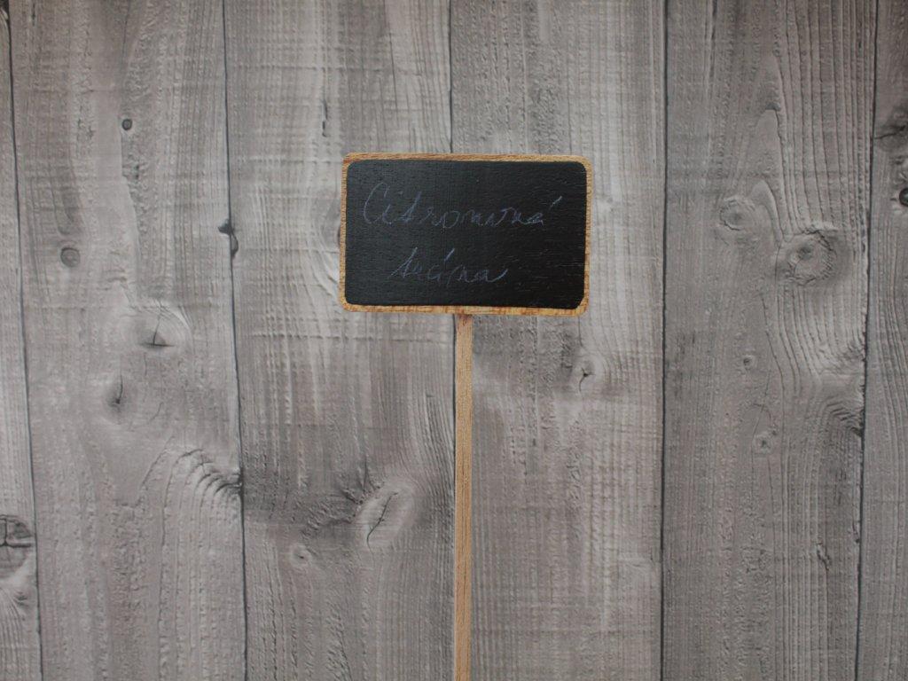 Tabulka dřevěná popisovací velká