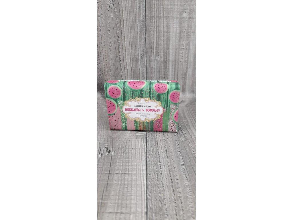 Mýdlo přírodní 200g- meloun