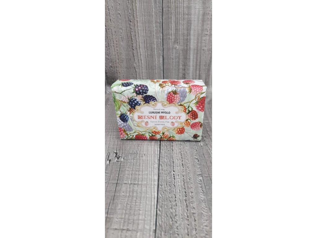 Mýdlo přírodní 200g- Lesní plody