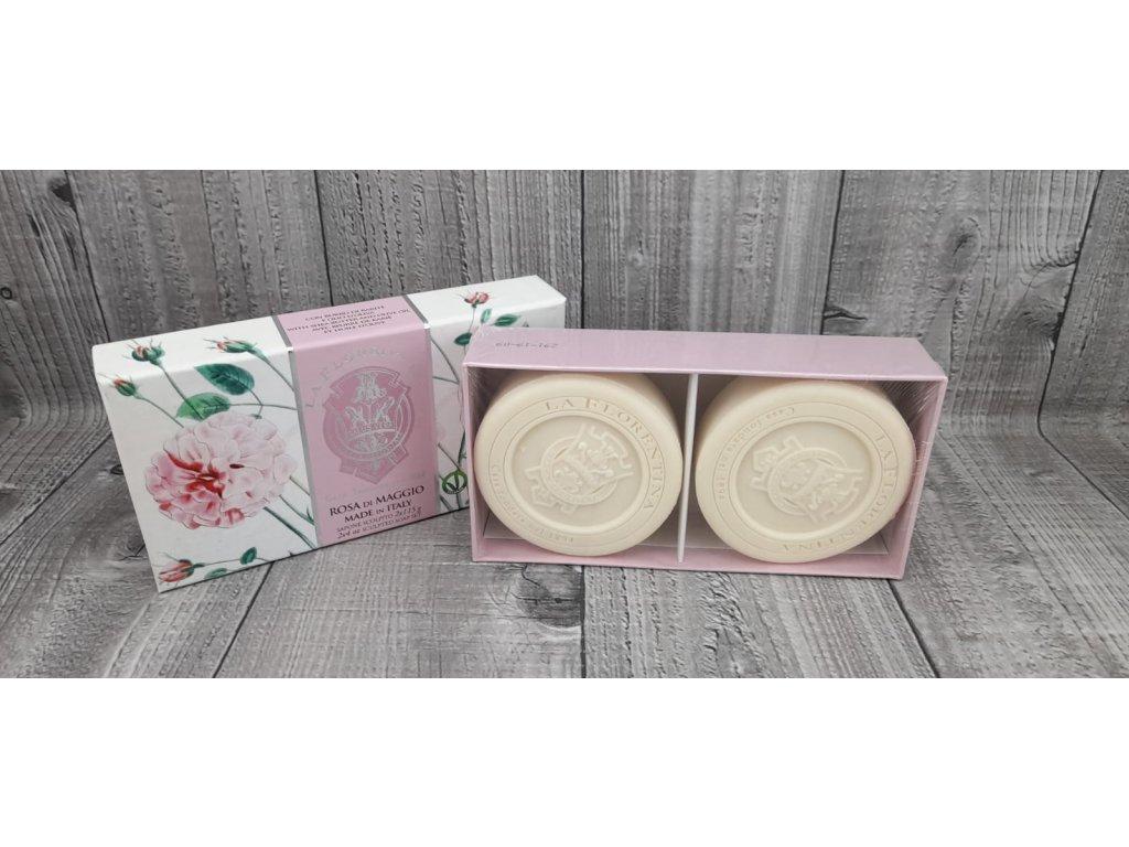 Mýdlo LA FLORENTINA 230g rosa di maggio