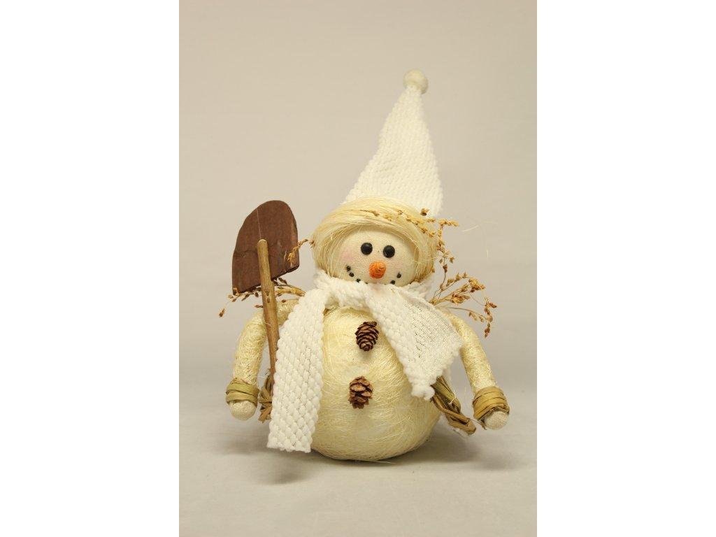 Sněhulák s lopatou