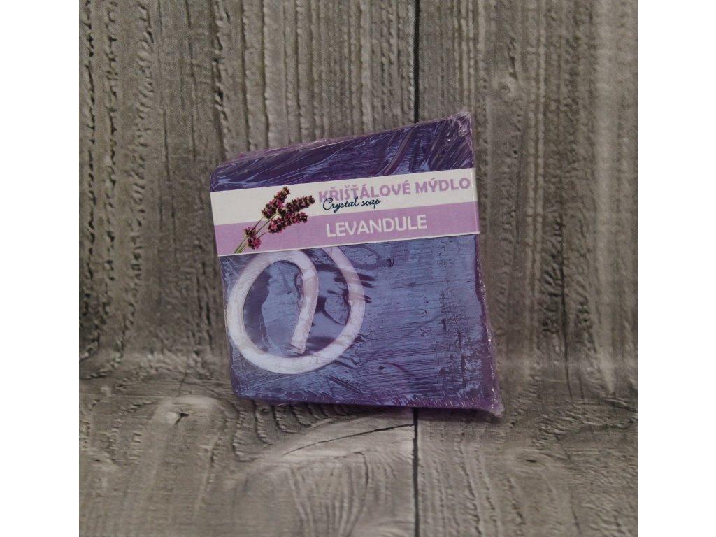 Mýdlo křišťálové malé levandule