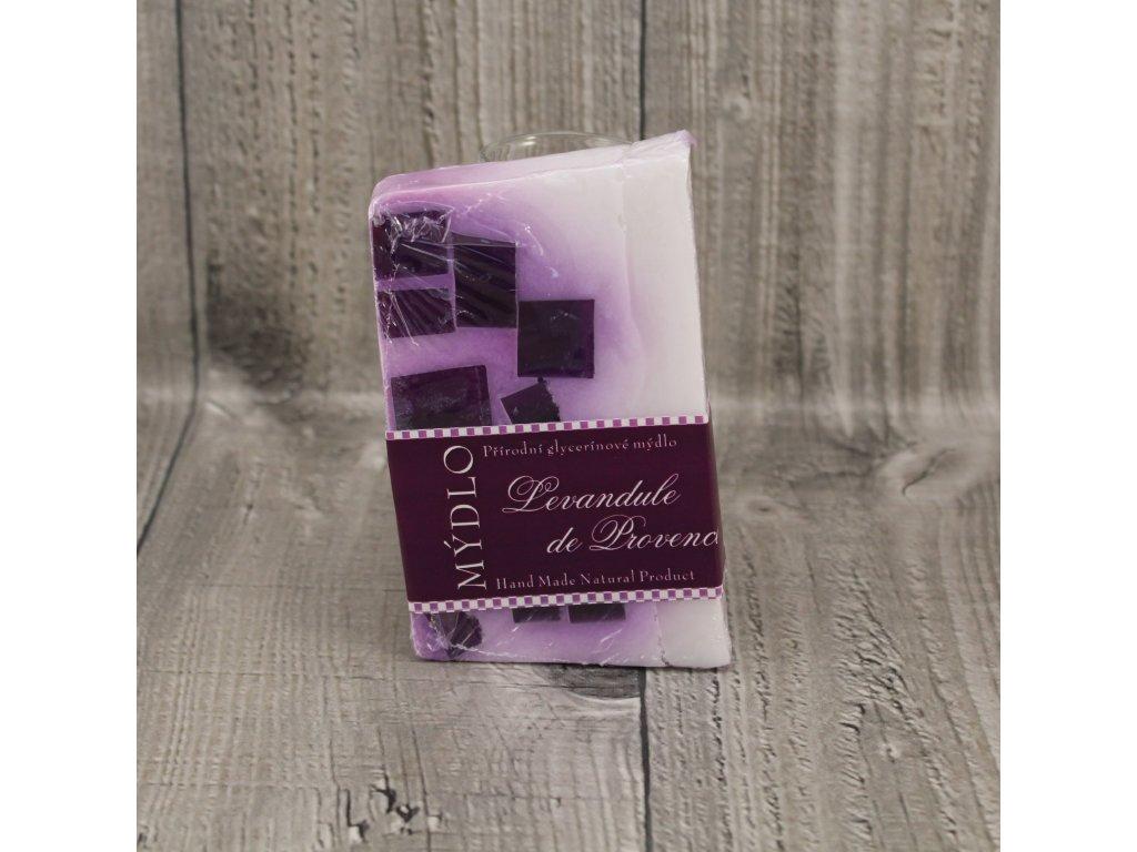 Mýdlo přírodní glycerínové levandule