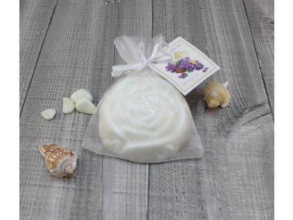 Mýdlo růže fialka 90g