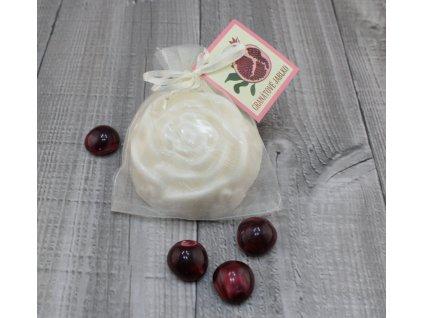 Mýdlo růže granátové jablko 90g