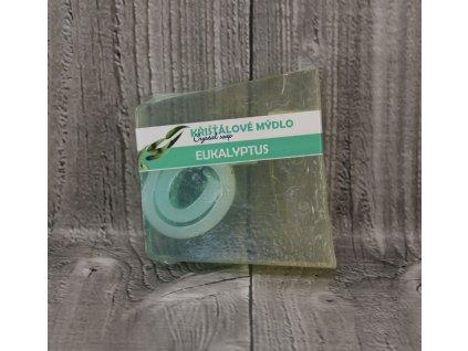 Mýdlo křišťálové malé eukalyptus