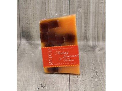 Mýdlo přírodní glycerínové sicilský pomeranč