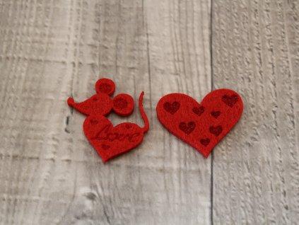 Srdíčko a myška