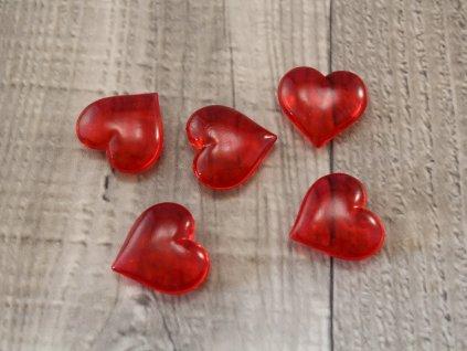 Srdíčko plastové