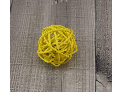 Pedig koule 6 žlutá