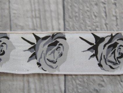 Stuha 25 růže