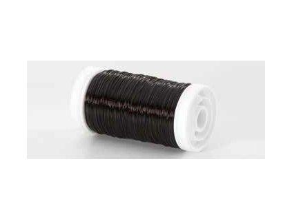 Drátek hladký černá 0,3mm