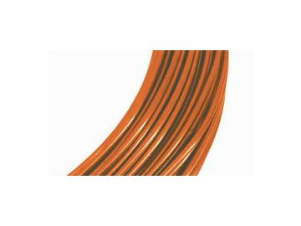 Drátek hliníkový oranžová 2mm