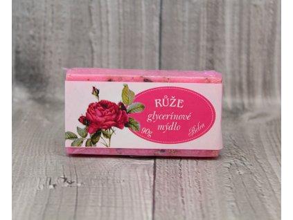Mýdlo glycerínové růže