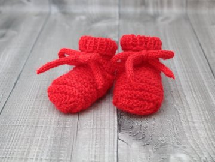 Bačkůrky mimi jednobarevné červené