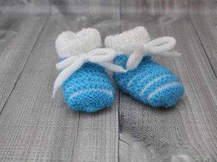 Bačkůrky mimi dvoubarevné modré tyrkysové
