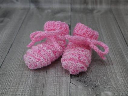 Bačkůrky mimi strakaté růžové světlé