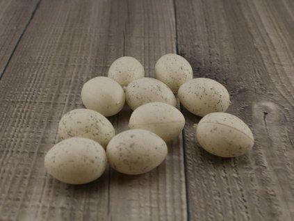 Vajíčko plastové velké bílé