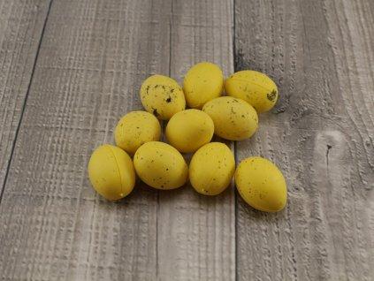 Vajíčko plastové malé žluté