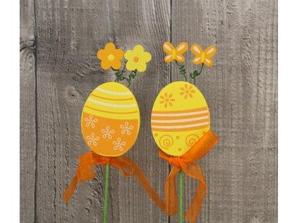 Vajíčko dřevěné zapichovací