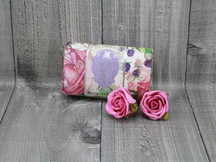 Mýdlo LA FLORENTINA 200g růže