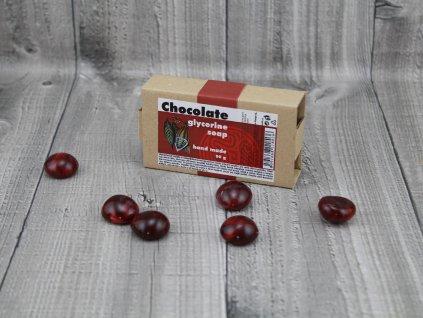 Mýdlo glycerínové čokoláda 90g