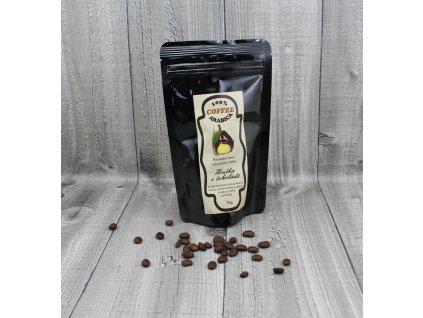 Káva hruška v čokoládě 70g