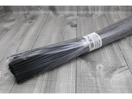 Dráty sekané černé 1,4mm