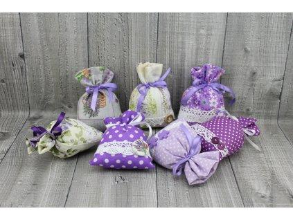 Sáčky dekorační fialové