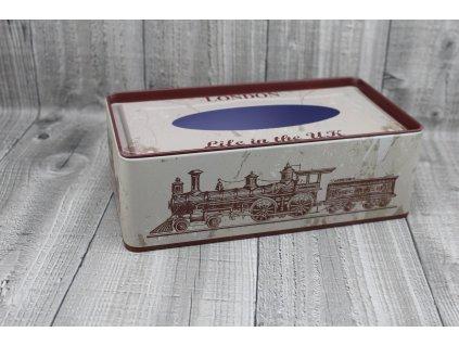 Krabice na kapesníky-retro