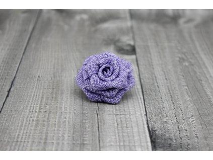 Růžička juta-fialová