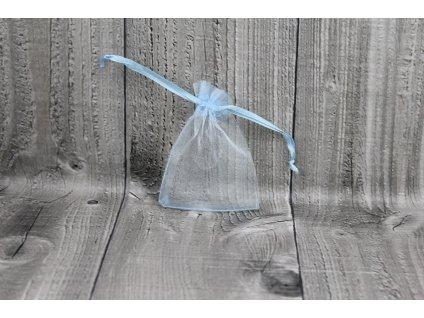 Sáček šifon-světle modrý