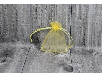 Sáček šifon-tmavě žlutý