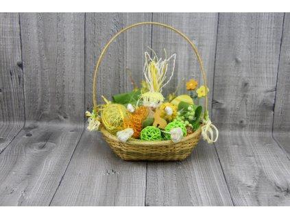 Zajíc v košíčku