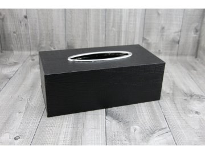 Krabice na kapesníky-černá