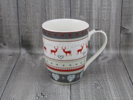 Hrnek porcelán 0,34l vánoční vzorek
